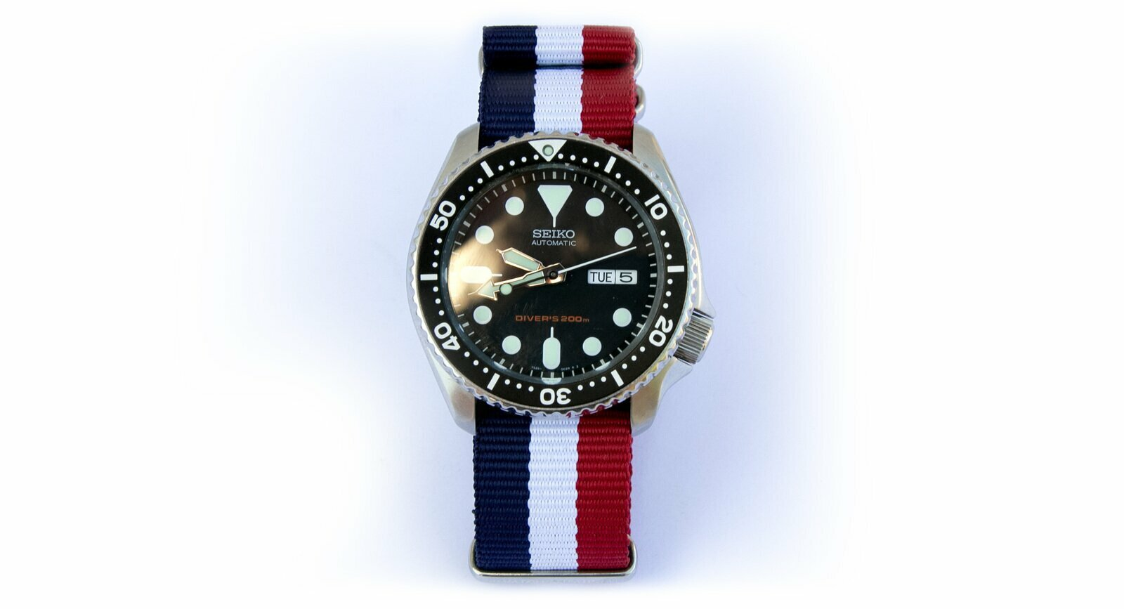 French Flag Watch Strap 18mm